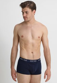 HOM - PACIFIC BRIEFS 2 PACK - Pants - navy and white/navy - 3