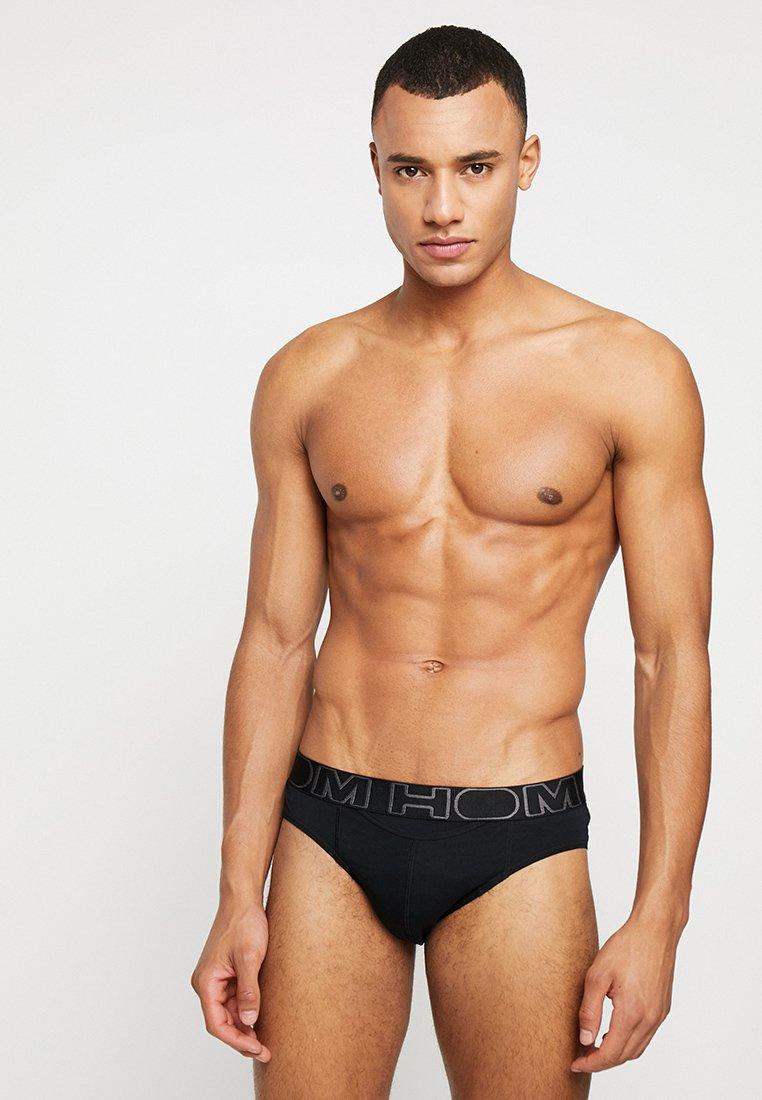HOM - MINI BRIEFS 2 PACK - Pants - black