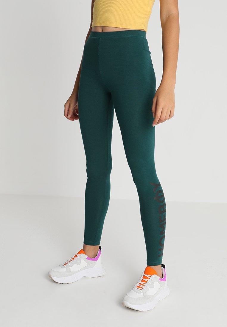 Homeboy - HELENA  - Leggings - Trousers - bottle green