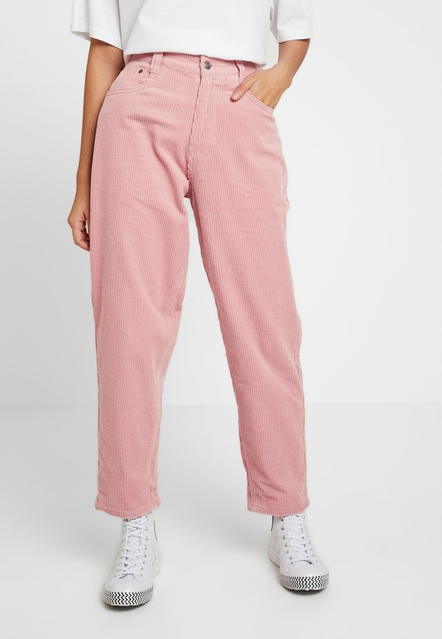 BAGGY - Trousers - rose