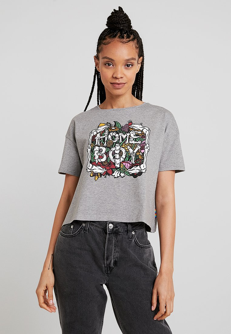 Homeboy - CATE - T-Shirt print - grey heather