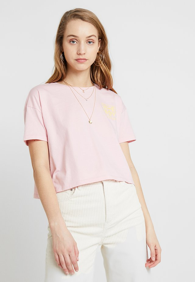 CATE T-SHIRT - T-Shirt print - blush rose