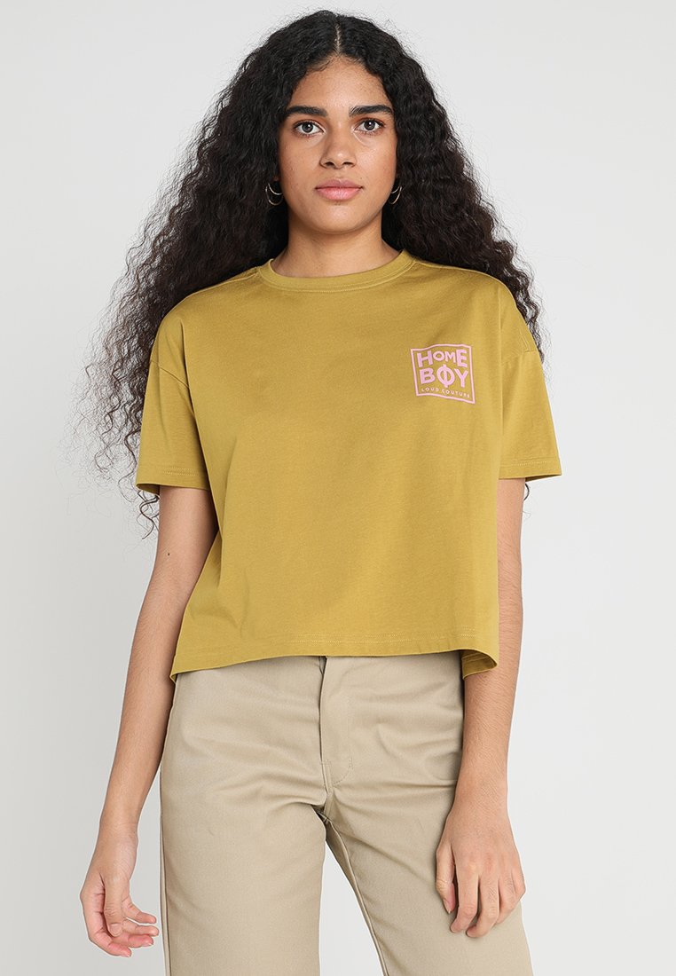 Homeboy - CATE - T-shirts med print - lime olive