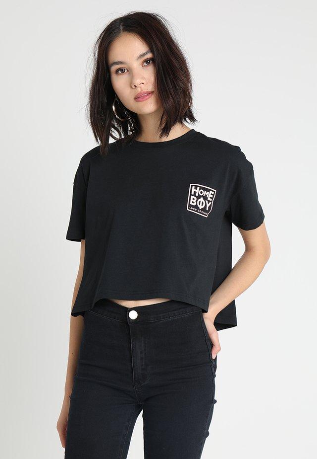 CATE T-SHIRT - T-shirts med print - black