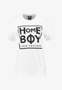 Homeboy - TAKE YOU HOME TEE - T-shirts med print - white - 3
