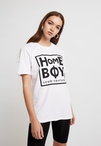 Homeboy - TAKE YOU HOME TEE - T-shirts med print - white - 0