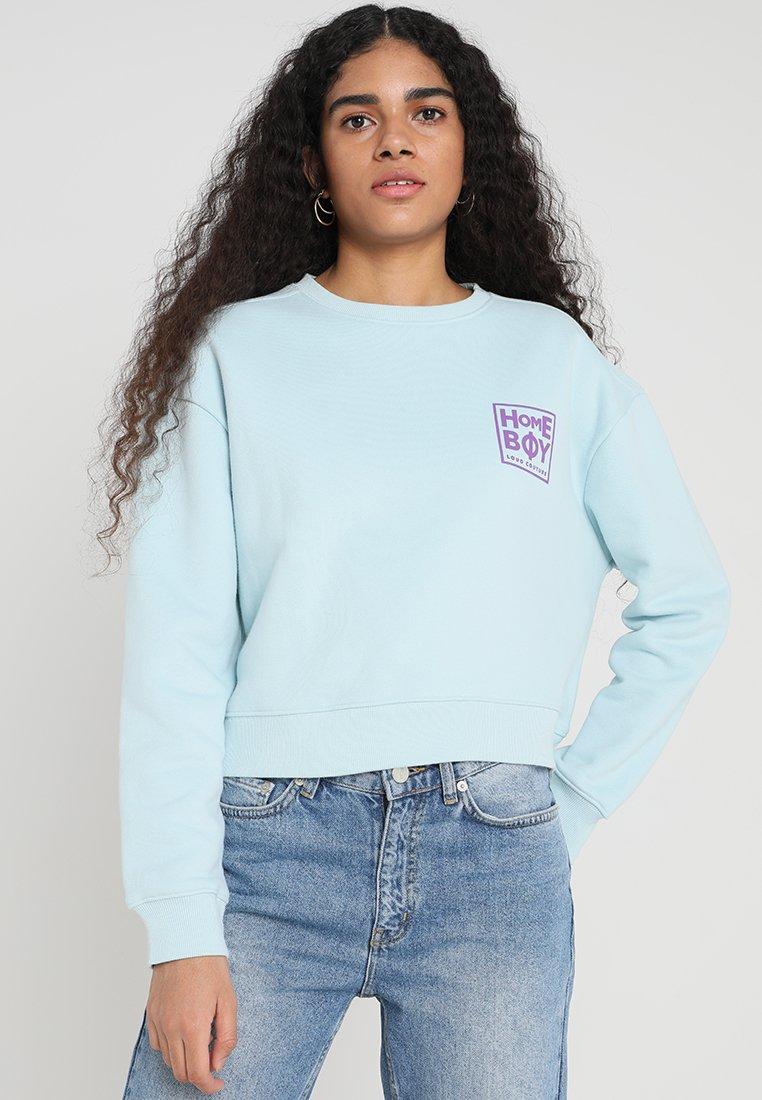 Homeboy - HAILY CREW NECK - Sweatshirt - sky