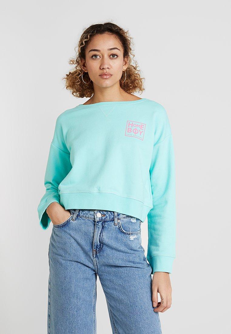 Homeboy - HAILY CREW NECK - Sweatshirt - aruba green