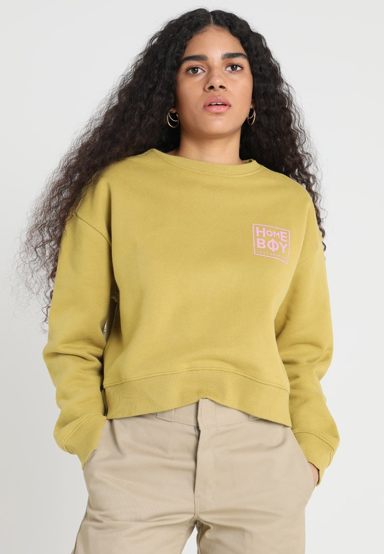 Homeboy - HAILY CREW NECK - Sweatshirt - lime olive