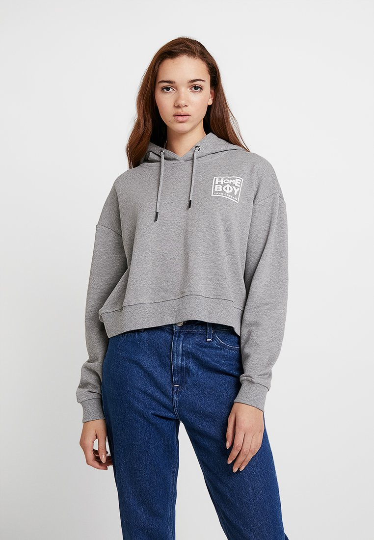 Homeboy - JADA HOOD - Hoodie - grey heather