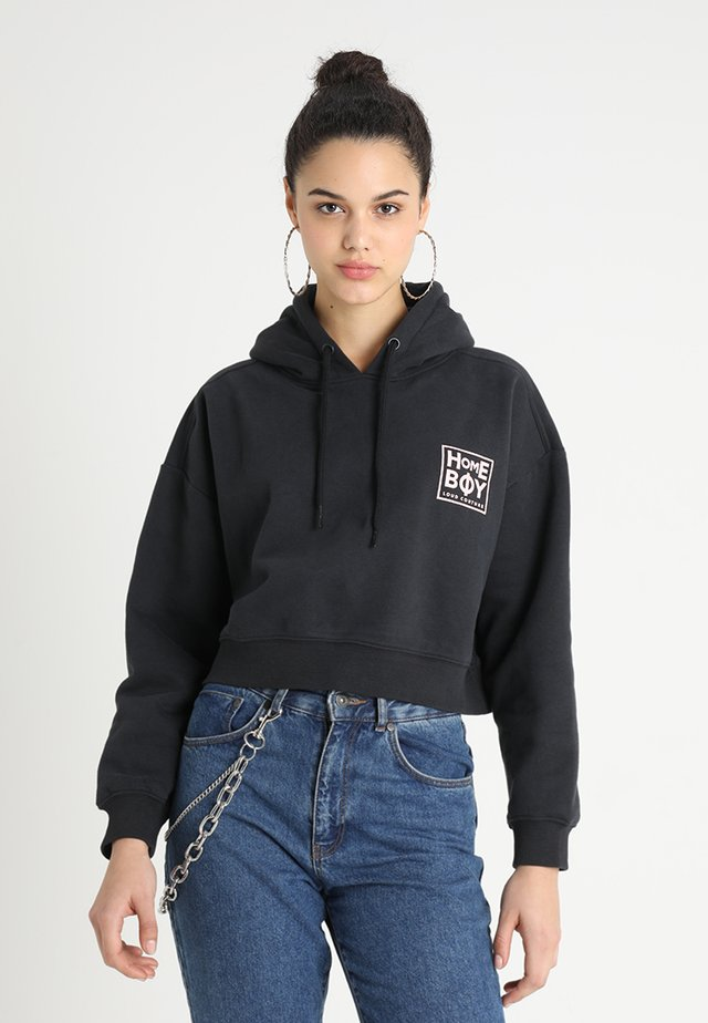 JADA SWEAT HOOD - Luvtröja - black