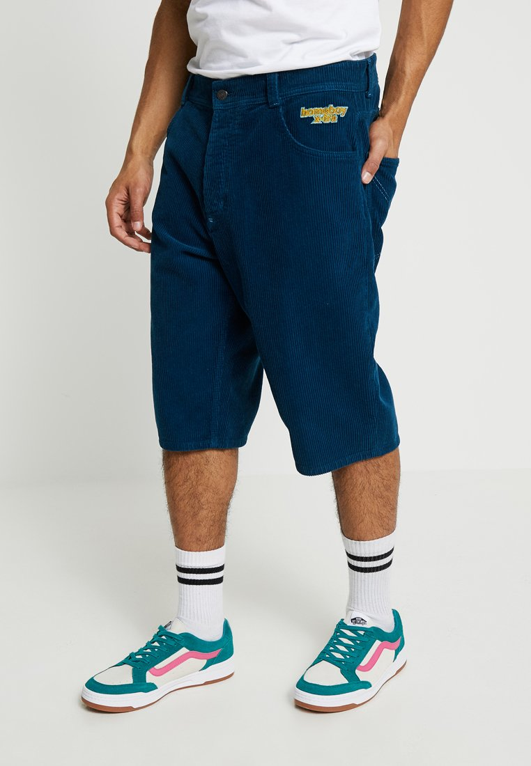 Homeboy - XTRA BAGGY - Shorts - blue steel