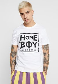 Homeboy - TAKE YOU HOME TEE - T-shirt med print - white - 0