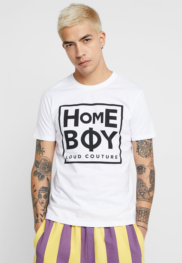 Homeboy - TAKE YOU HOME TEE - T-shirt med print - white