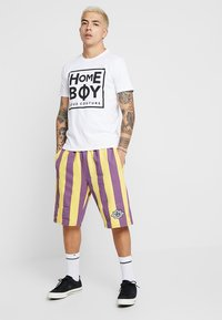 Homeboy - TAKE YOU HOME TEE - T-shirt med print - white - 1