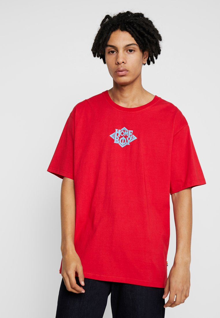 Homeboy - THE BIGGER TEE - T-shirt imprimé - red