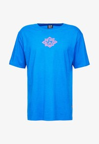 Homeboy - THE BIGGER TEE - T-shirt z nadrukiem - blue - 3