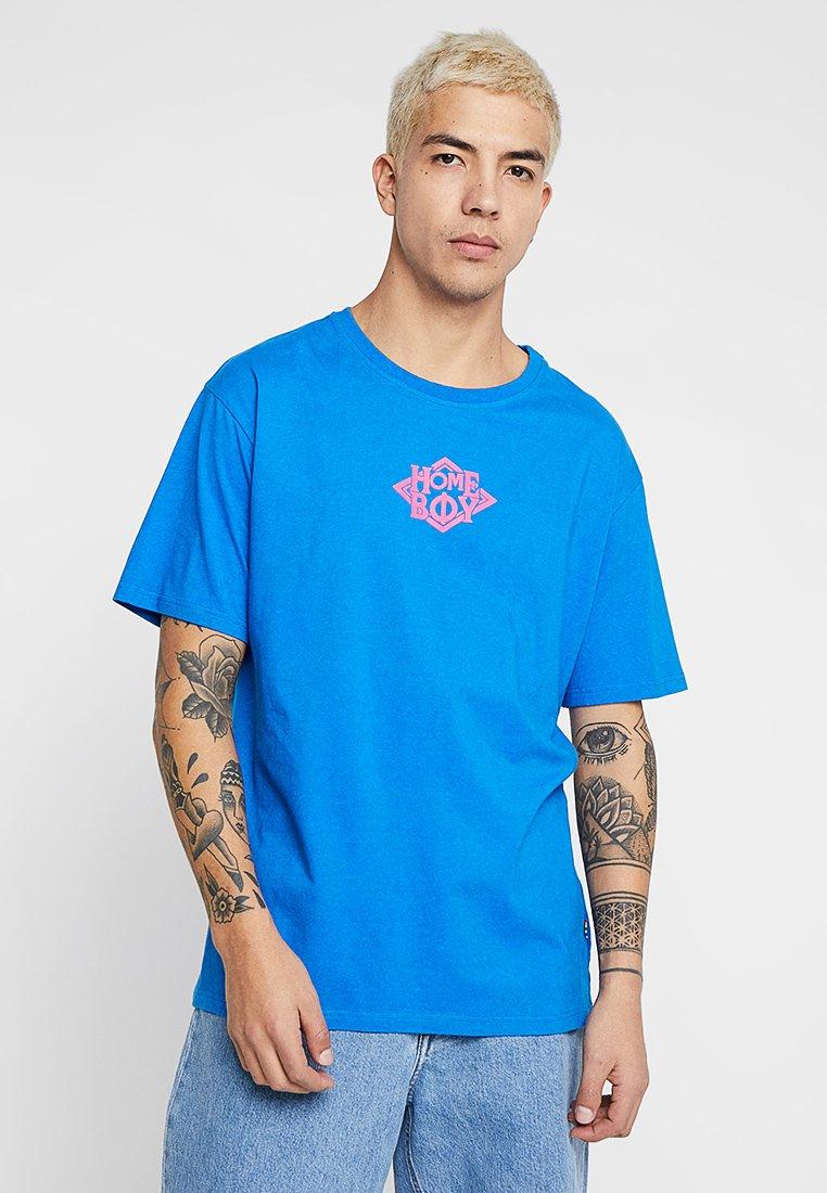 Homeboy - THE BIGGER TEE - T-shirt z nadrukiem - blue