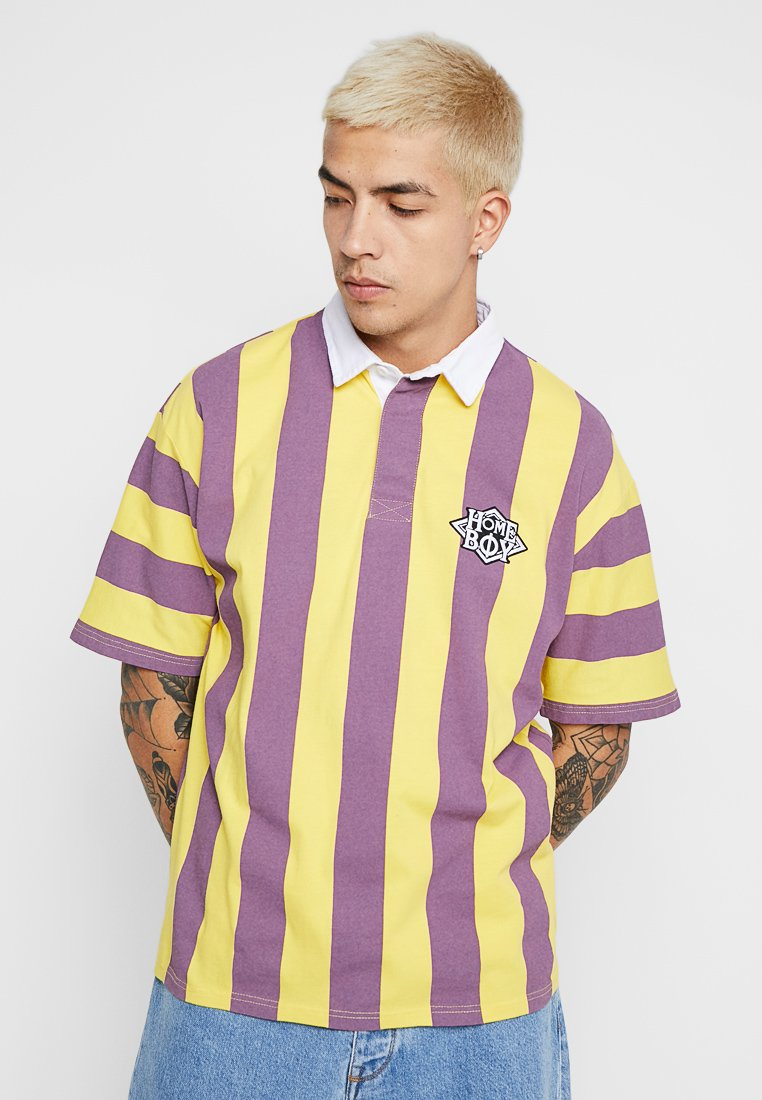 Homeboy - UPSIDE DOWN RUGBY - Poloshirt - yellow