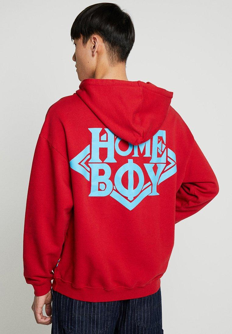 Homeboy - THE BIGGER HOOD - Hoodie - red
