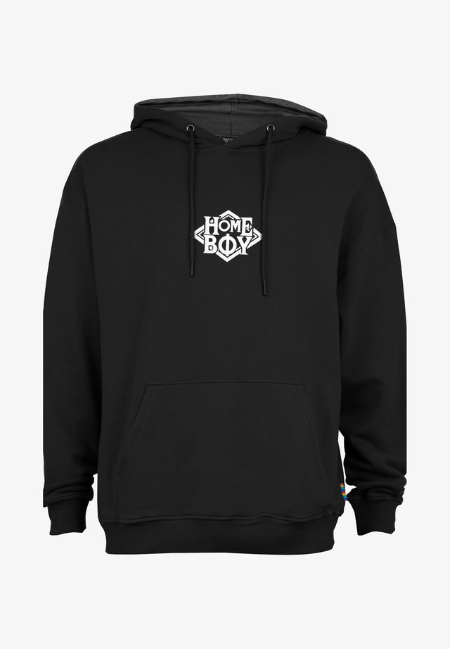 THE BIGGER - Hoodie - black