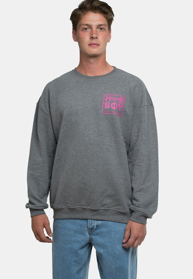 THE BIGGER - Sweatshirt - grey heather