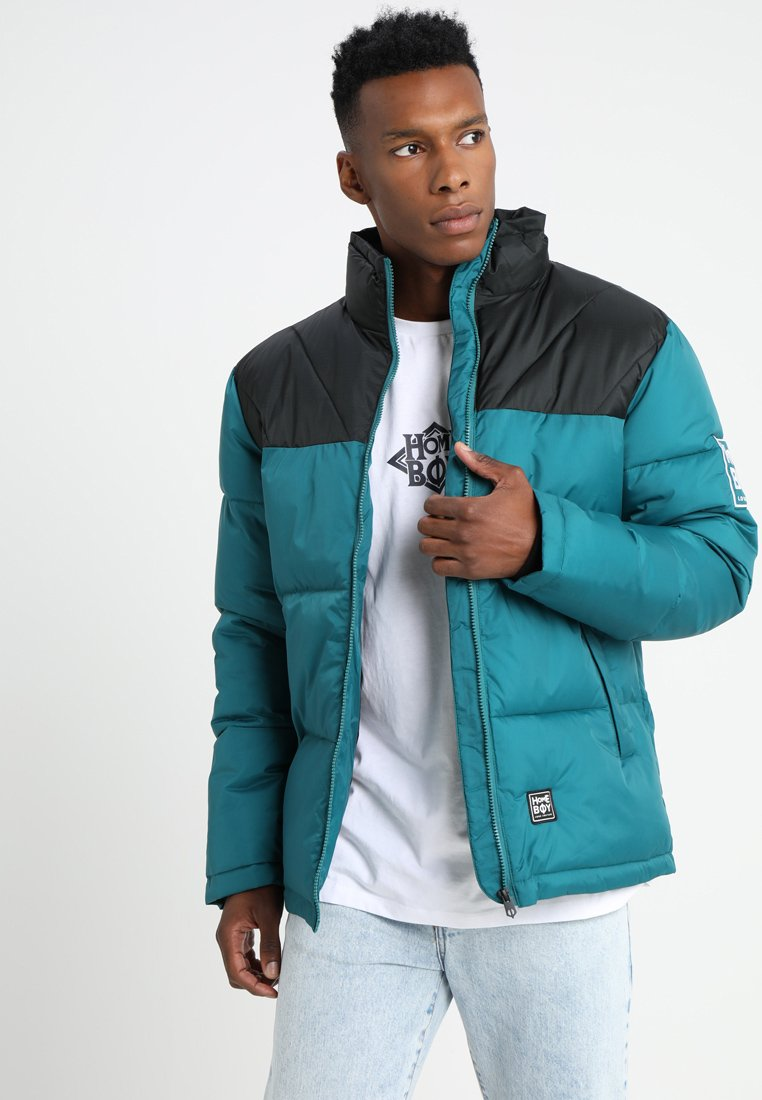 Homeboy - SADDLE ARK JACKET - Chaqueta de invierno - teal
