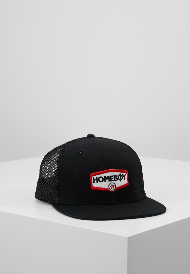 Homeboy - TRUCKER CAP BABYFACE - Cap - black