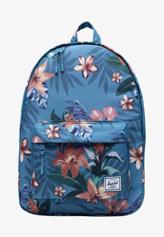 Rugzak - summer floral heaven blue