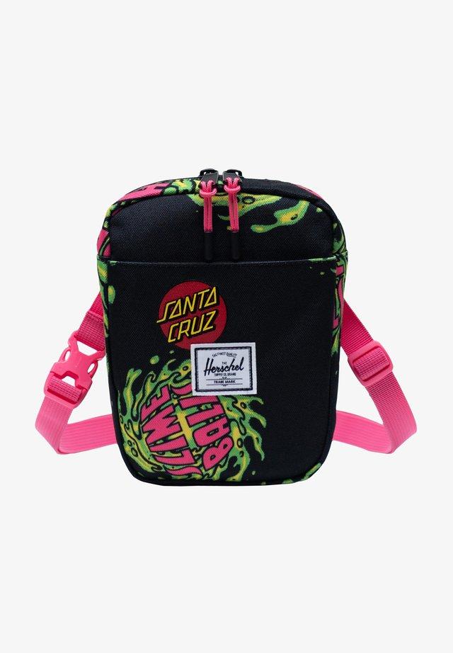 Schoudertas - slimeball /hot pink /black
