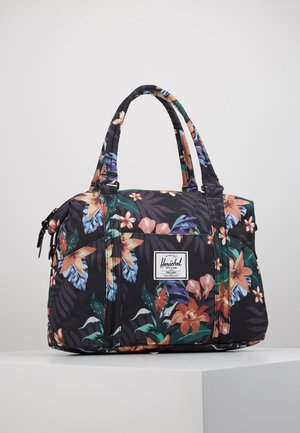 STRAND - Tote bag - summer floral black