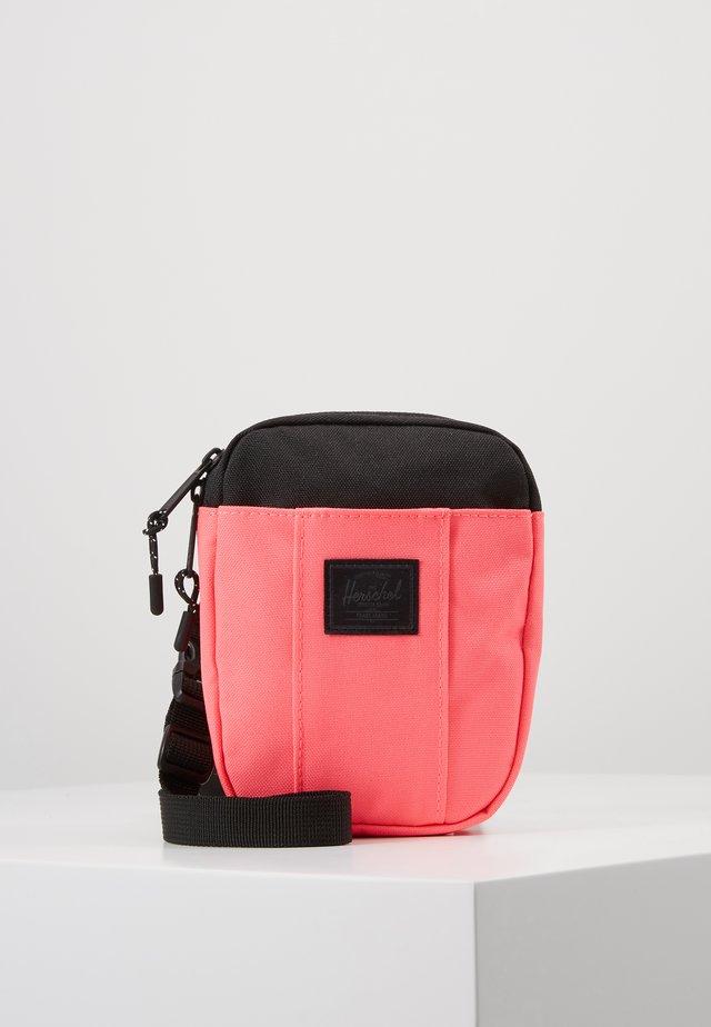 CRUZ - Across body bag - neon pink/black