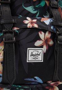 Herschel - LITTLE AMERICA MID VOLUME - Reppu - black/black - 5