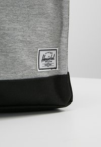 Herschel - CITY MID VOLUME - Reppu - light grey crosshatch/ash rose/black - 6