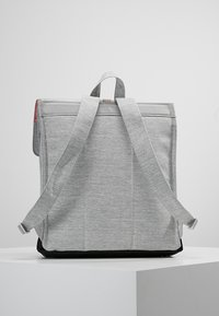 Herschel - CITY MID VOLUME - Reppu - light grey crosshatch/ash rose/black - 2