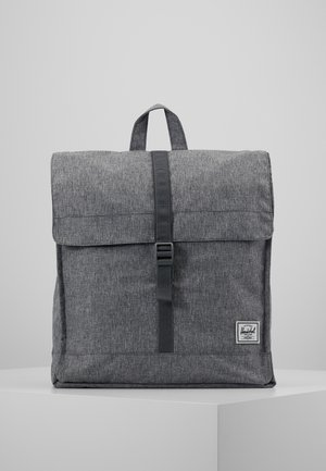 CITY MID VOLUME - Sac à dos - raven crosshatch