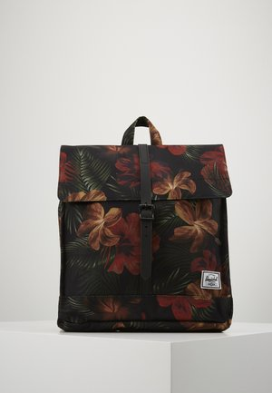 CITY MID VOLUME - Sac à dos - tropical hibicus