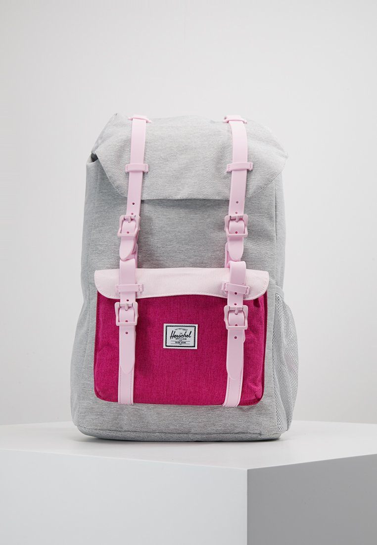 Herschel - LITTLE AMERICA YOUTH - Tagesrucksack - light grey/very berry/pink lady