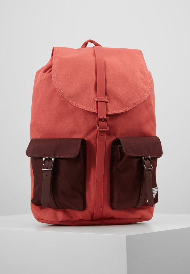 DAWSON - Rucksack - mineral red/plum