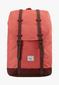 Herschel - RETREAT MID VOLUME - Tagesrucksack - mineral red/plum - 5