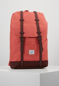 Herschel - RETREAT MID VOLUME - Tagesrucksack - mineral red/plum - 0