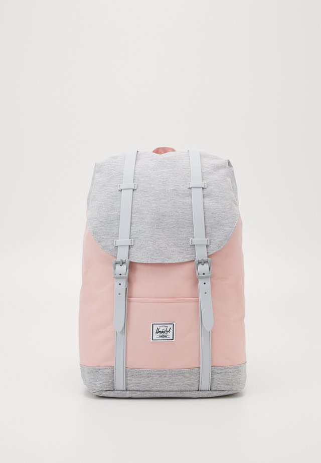 RETREAT MID VOLUME - Ryggsekk - mellow rose/light grey crosshatch