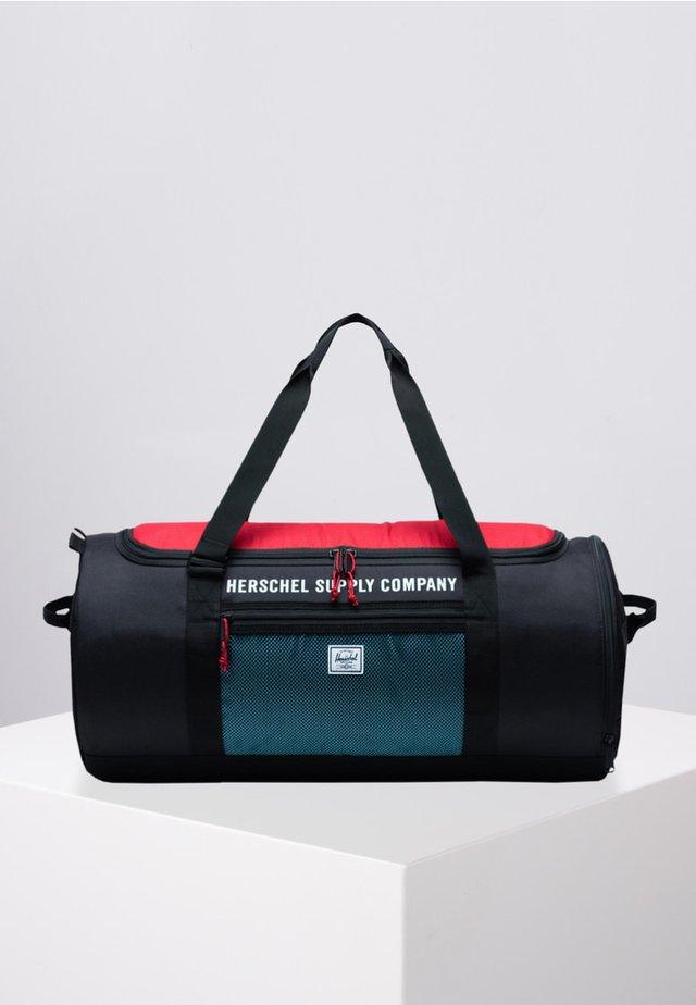 Sports bag - black/red