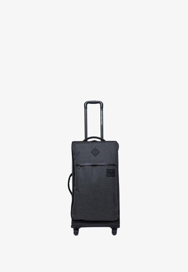 HERSCHEL HIGHLAND MEDIUM TRAVEL BLACK CROSSHATCH KOFFER/TROLLY - Trolley - grey
