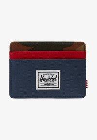 Herschel - CHARLIE - Portemonnee - navy/red/woodland camo - 1