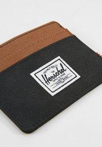 Herschel - CHARLIE - Wallet - black/saddle brown - 2