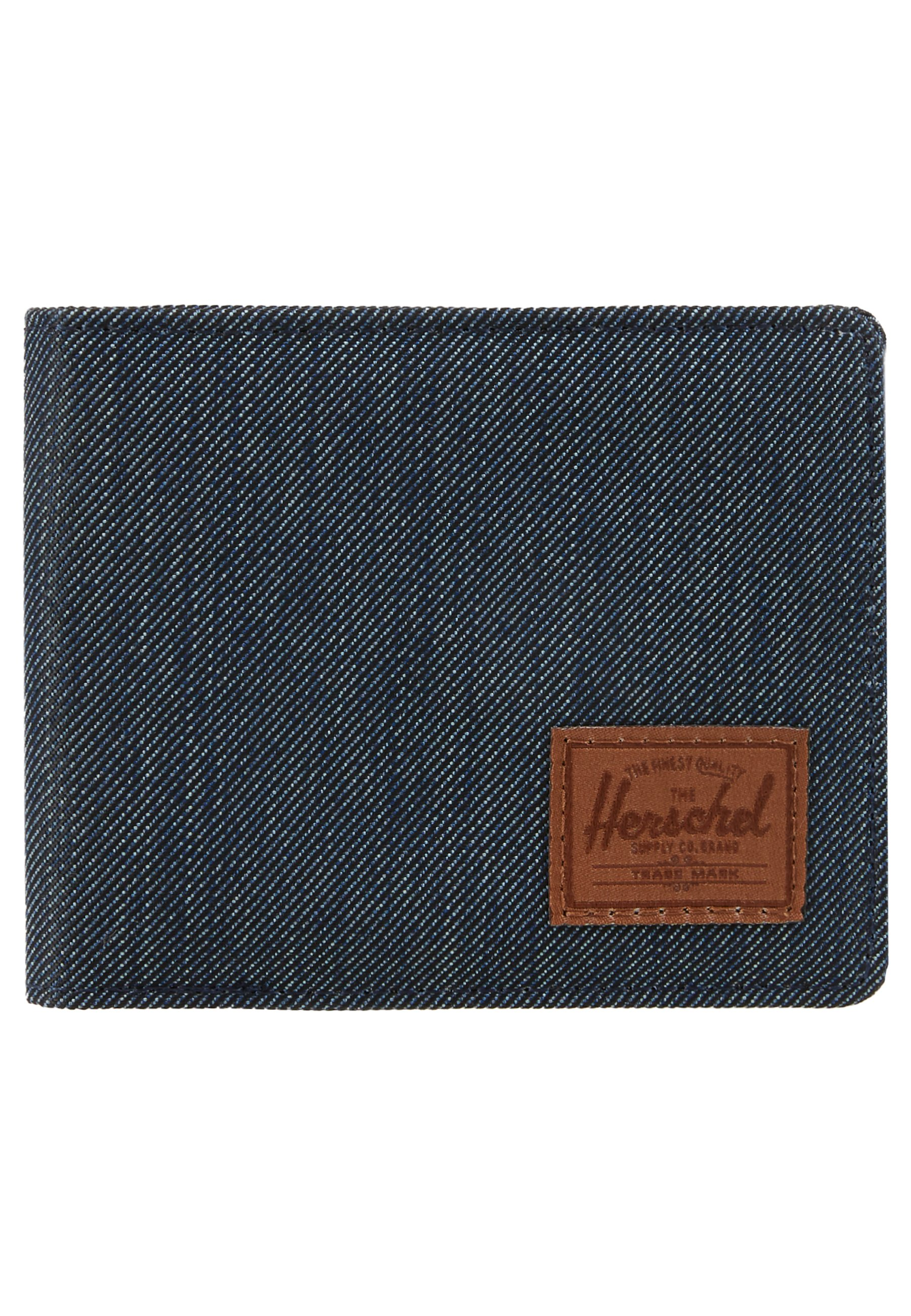 Herschel ROY - Plånbok - indigo/saddle brown