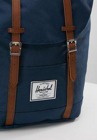 Herschel - RETREAT - Rucksack - navy - 7