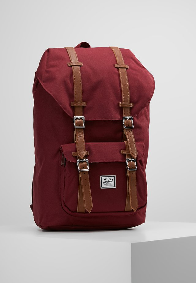 LITTLE AMERICA - Tagesrucksack - windsor wine