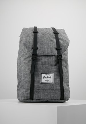 RETREAT - Reppu - raven crosshatch / black rubber